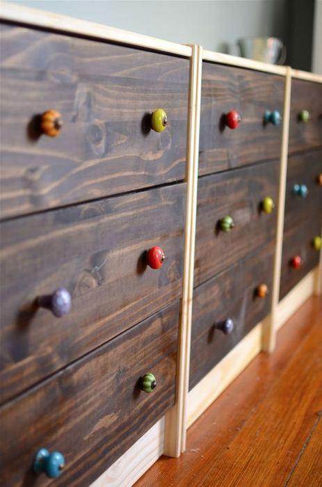 10. Сменить фурнитуру на мебели