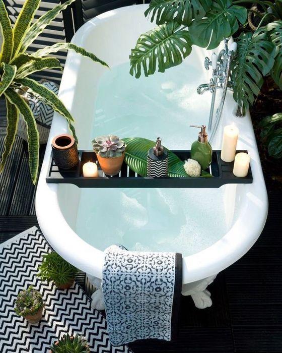 Зелёная ванная