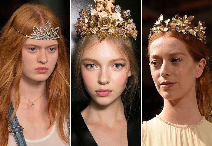 Как принцесса: диадемы снова в моде