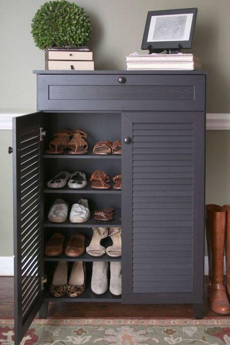 Консоль с отделением для хранения обуви