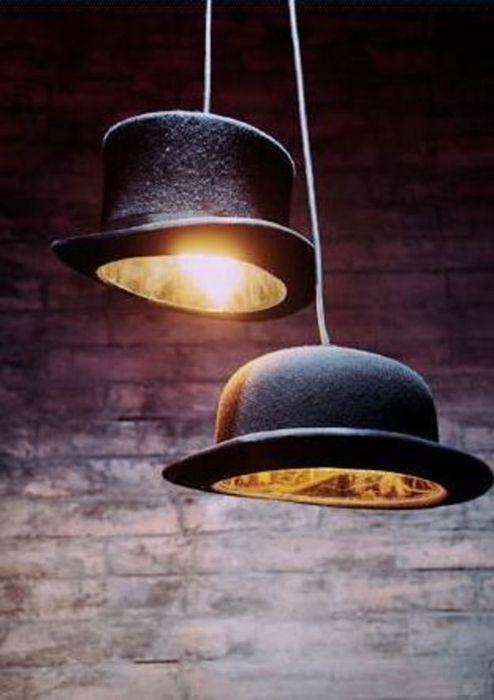 Светильники-шляпы