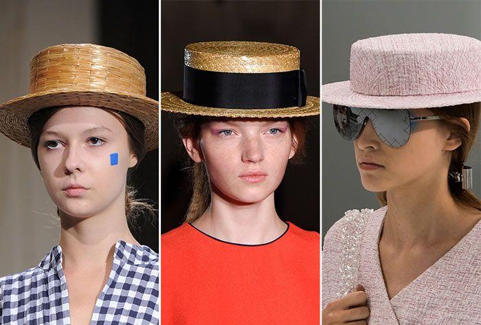 Модные соломенные шляпки 2016