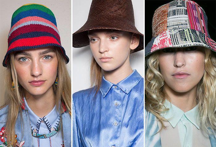 В моде самые разнообразные панамы