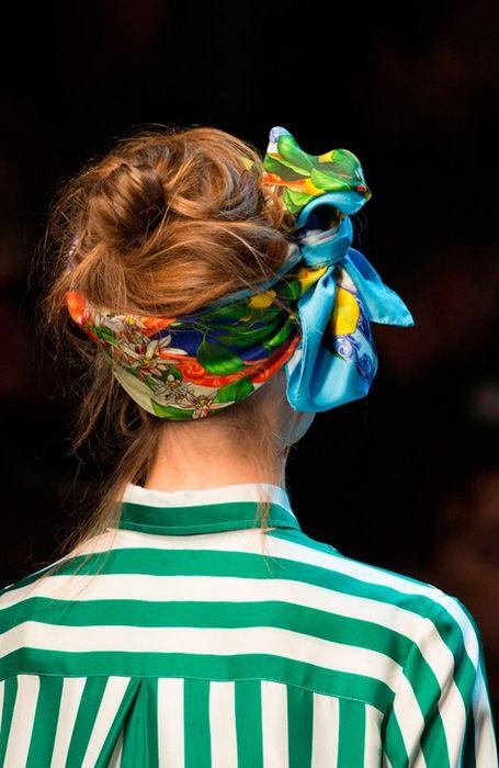 Модная причёска 2016