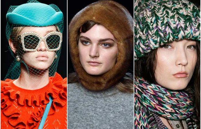 Самые стильные и модные головные уборы осенне-зимнего сезона