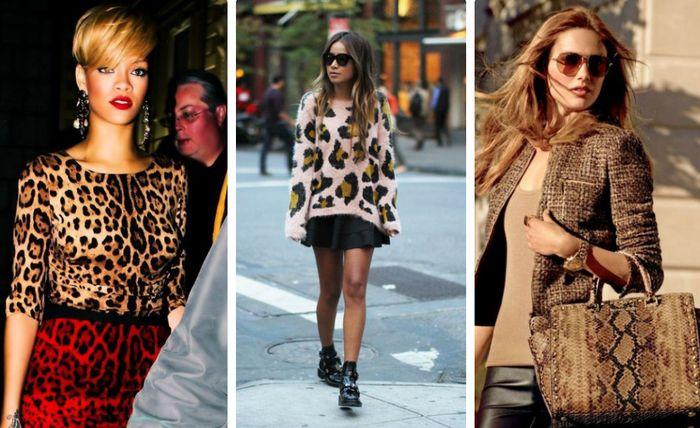 Модный тренд - хищные принты