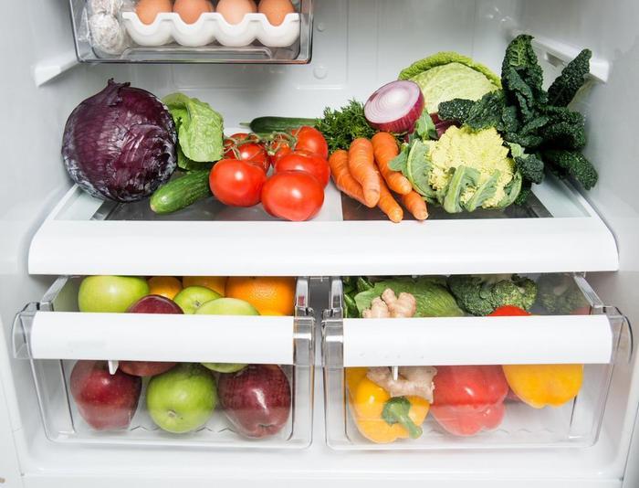 У каждого продукта должно быть своё место в холодильнике