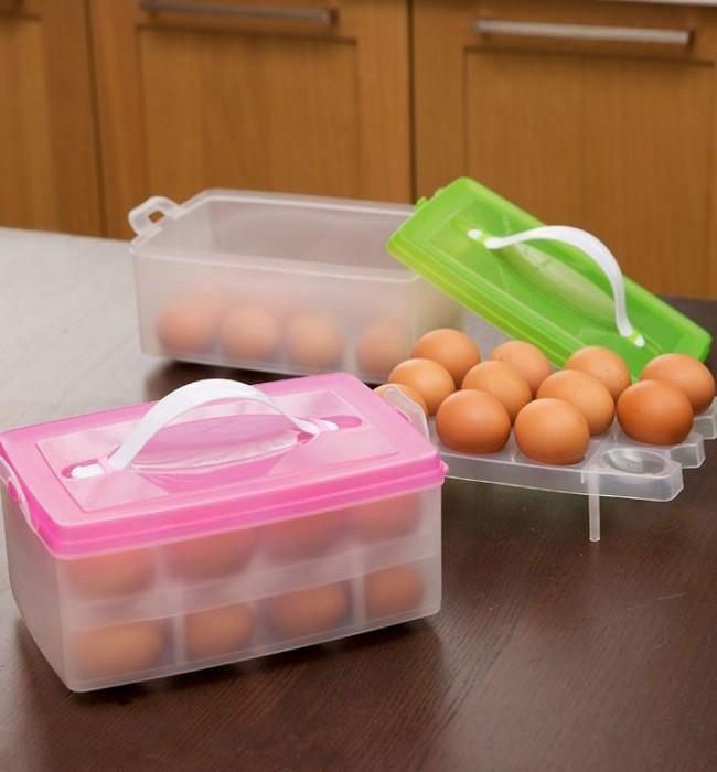 Яйца нужно хранить в закрытых контейнерах