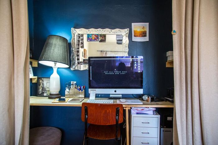 Домашний офис до переделки