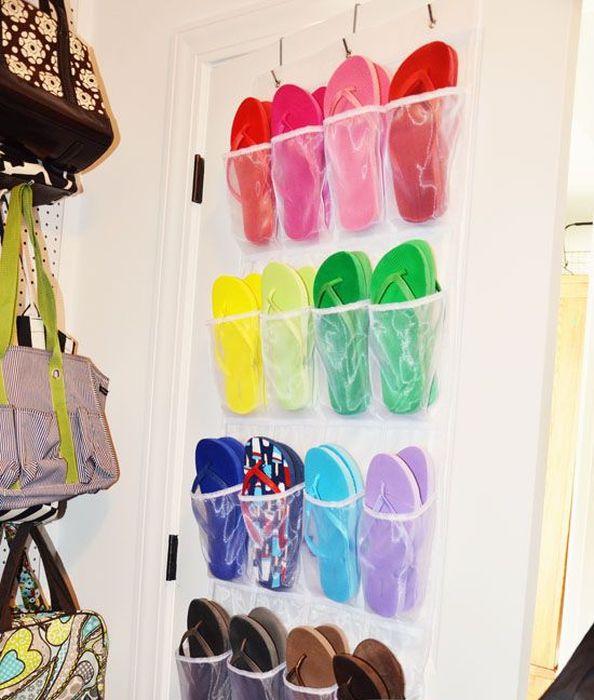 Органайзер для хранения летней обуви