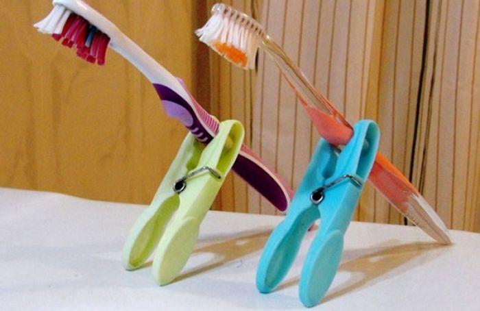 17 оригинальных способов хранения зубных щёток 8b0fc35e7166c