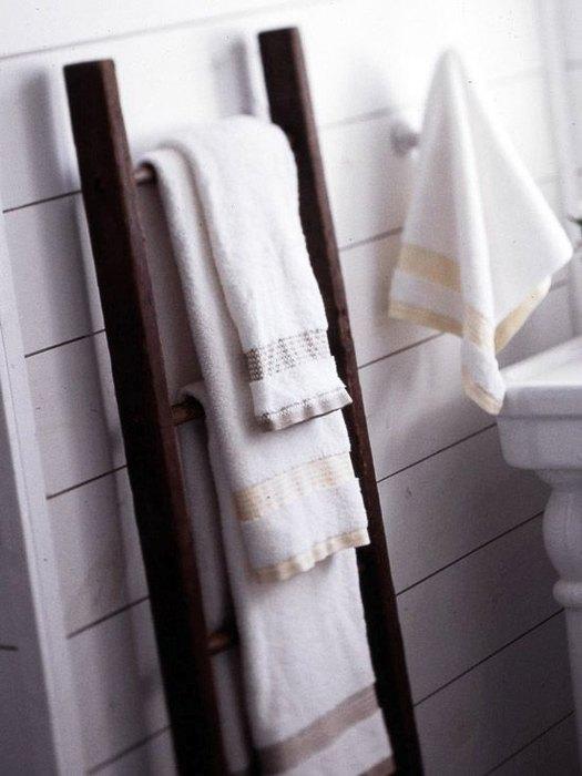 Стремянка, как полотенцедержатель