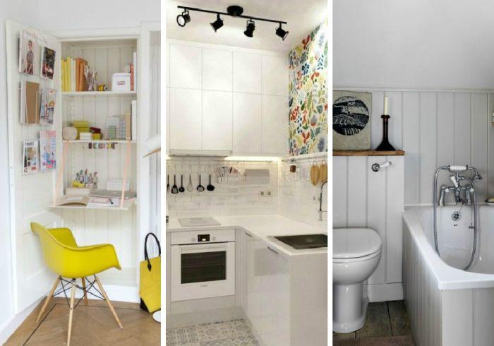 Крутые идеи для маленьких комнат