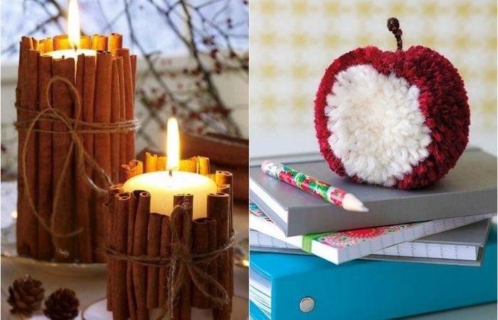 Зимний декор, который сделает интерьер уютным