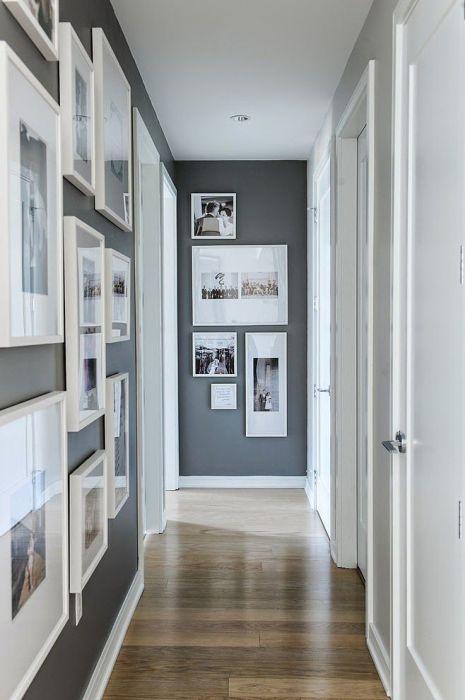 Приём, который помогает сделать узкую и длинную комнату визуально более пропорциональной