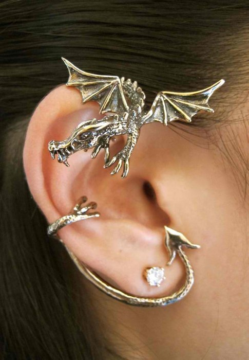Каффа Дракон (бронза), бренд Marty Magic Jewelry (Калифорния)
