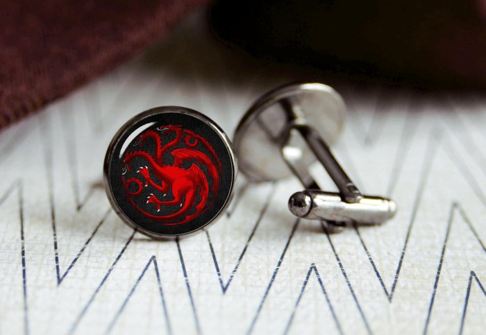 Запонки House Targaryen - Style Verge