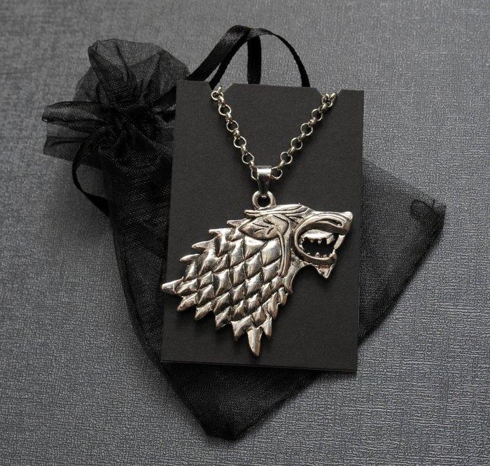 Кулон Лютоволк (серебро) - Spookyisland