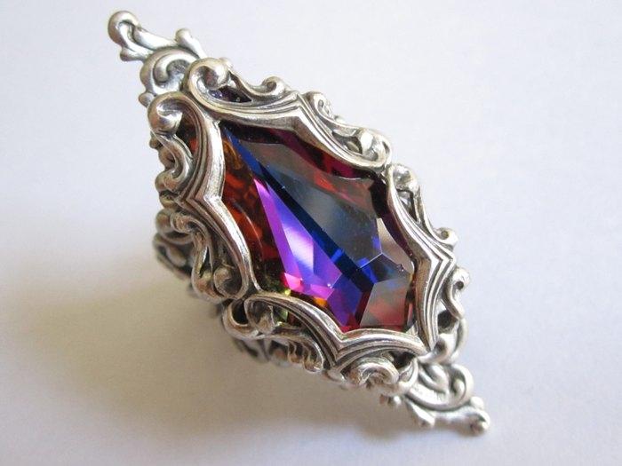 Кольцо Ария Старк (серебро и кристалл Сваровски) Daedra Jewelry
