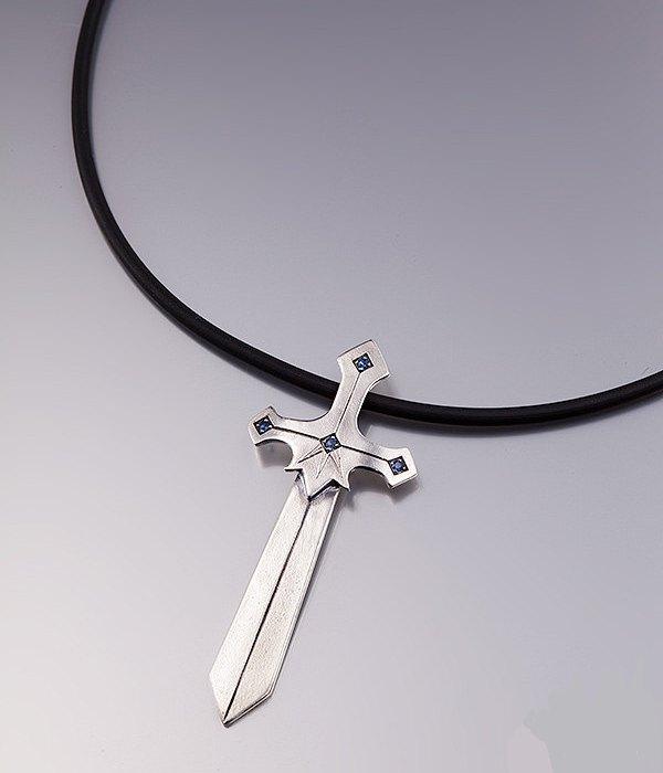 Кулон Меч (серебро, циркон) Shirli Fantasy Jewelry (Израиль)