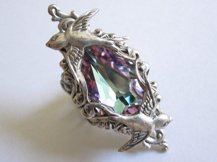 Кольцо Санса (серебро и кристалл Сваровски) Daedra Jewelry