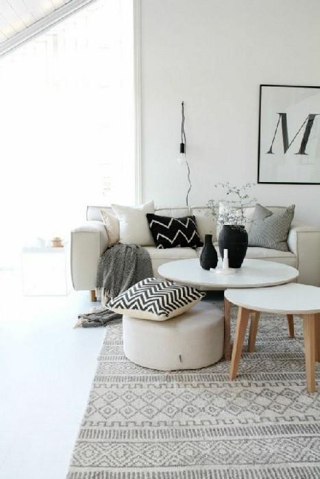 Мебель должна быть простой, практичной и без острых углов