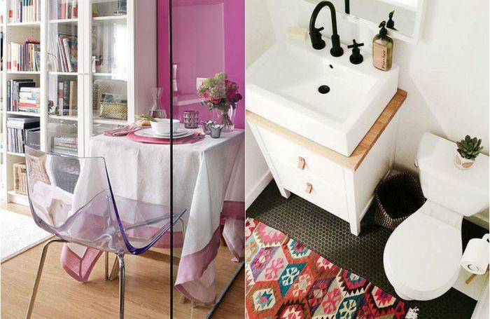 Хитрые решения для маленьких квартир: 5 дельных советов и 15 очаровательных примеров