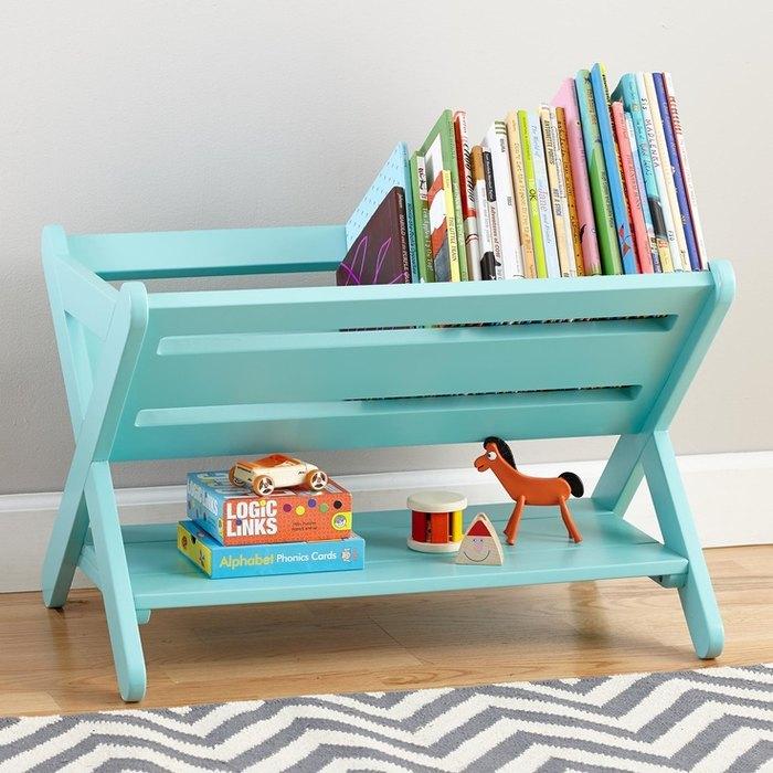 Идея №14. Хранение книг в детской