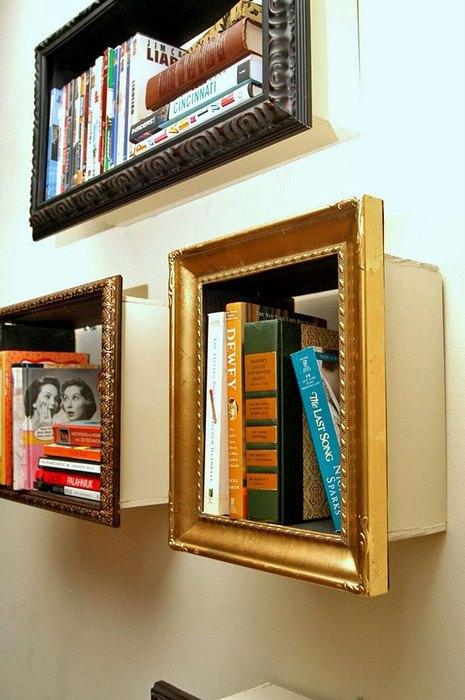 Идея №16. Можно использовать книги в качестве декора