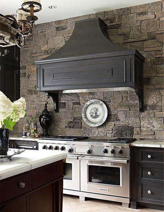 Кухонный фартук из натурального камня
