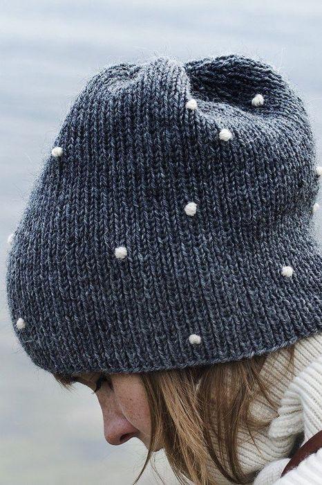 Симпатичная шапка
