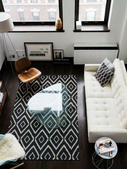 Стильный ковёр
