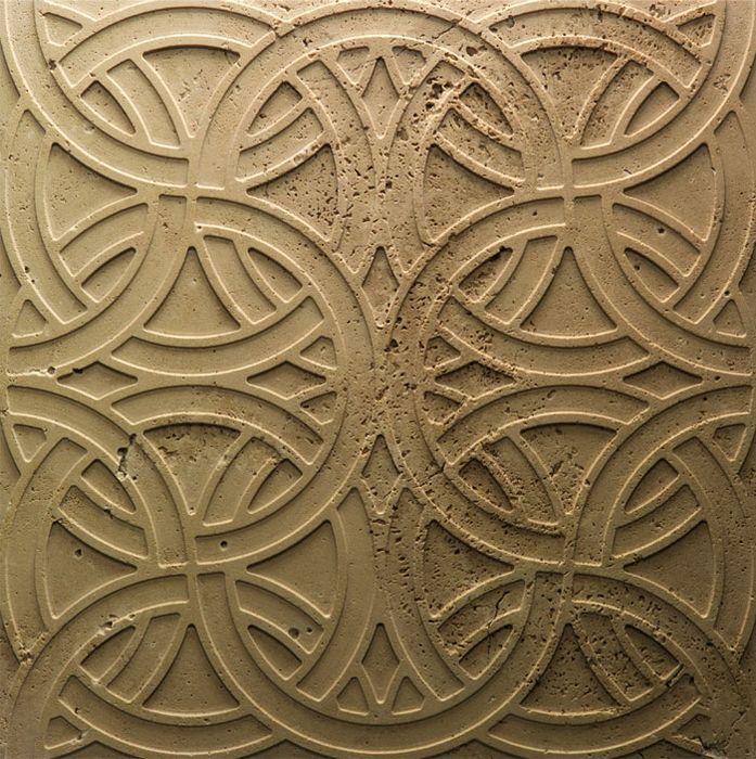 Рельефная мраморная плита