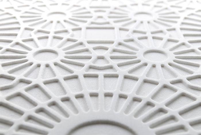Мраморные плиты с эффектом кружева