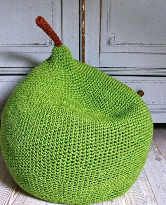 Кресло-мешок в виде груши