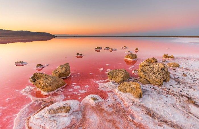 Солевое озеро Тобечик. Автор фото: Сергей Анашкевич