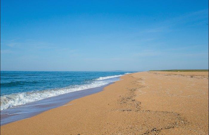 Золотой песок и лазурное море. Автор фото: Сергей Анашкевич