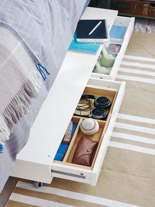 Удобные ящики для хранения вещей