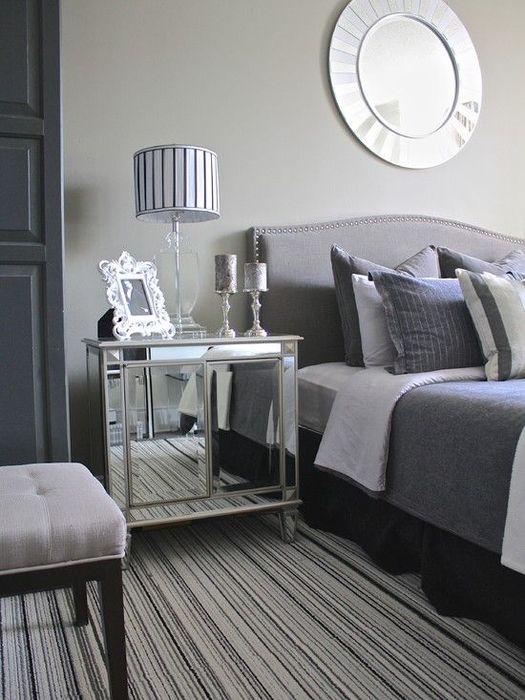 Элегантный интерьер маленькой спальни