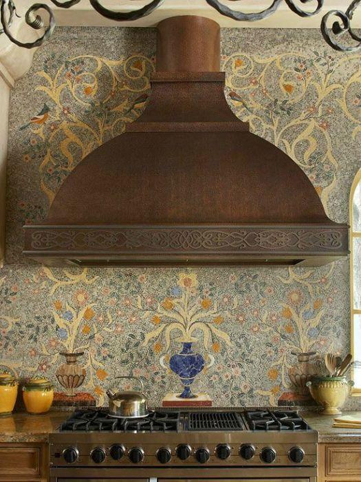 Кухонный фартук, как произведение искусства
