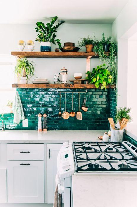 Кухонный фартук, кака яркий акцент