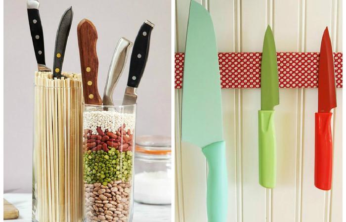 Хранение и уход за ножами