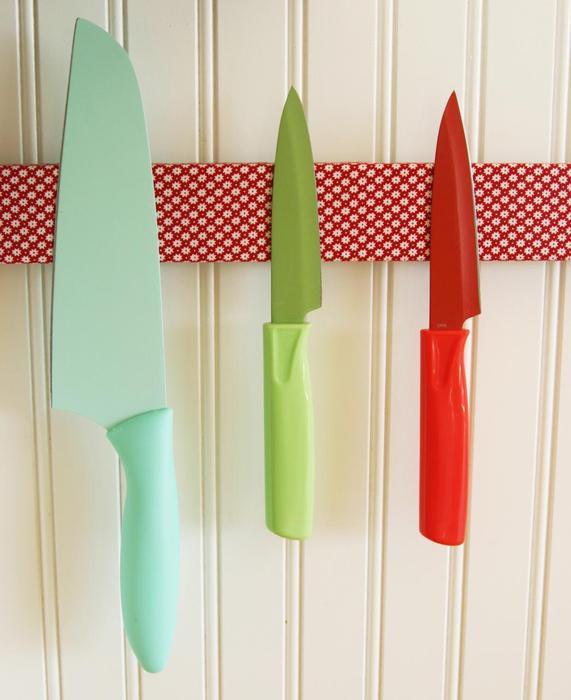 Оригинальный магнитный держатель для ножей