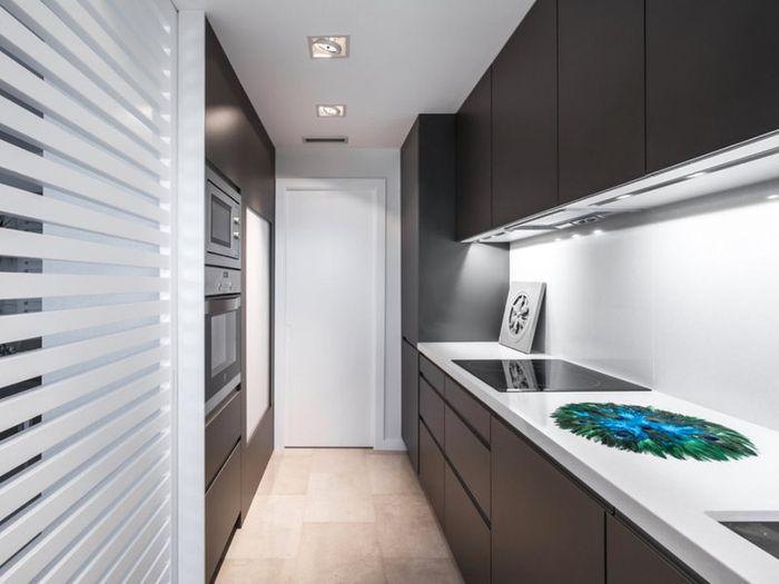 Грамотное освещение на кухне