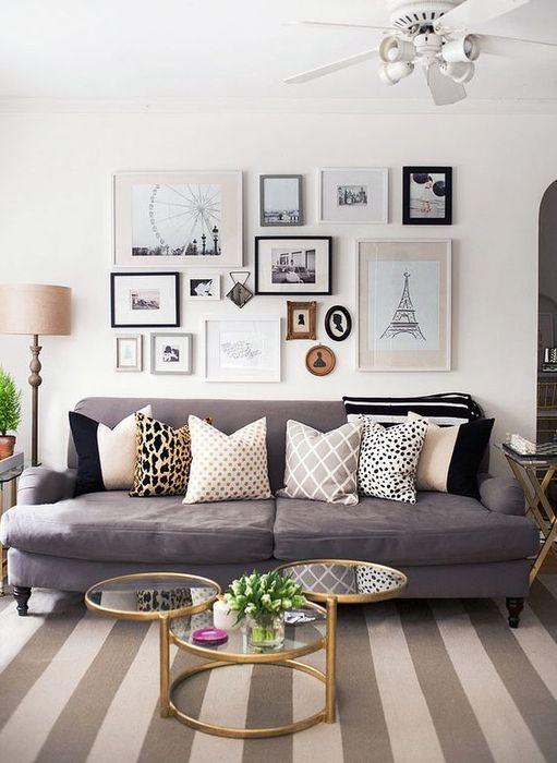 Стильный и функциональный декор в гостиной