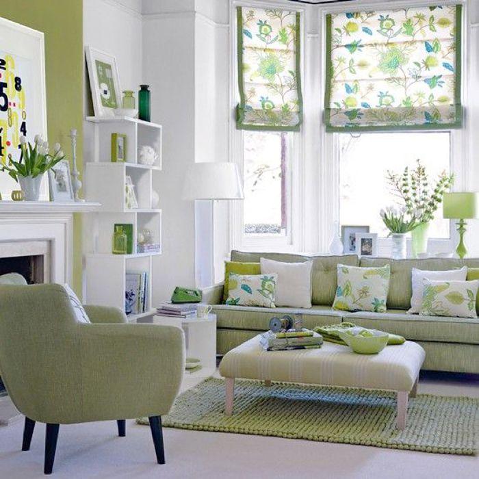 Стильный и функциональный интерьер гостиной