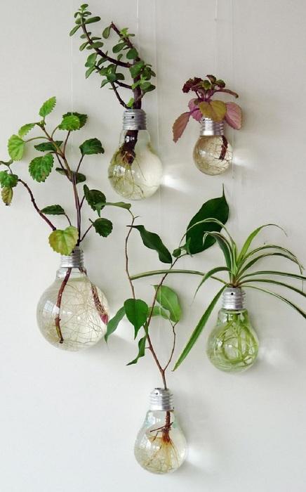 13. Зелёный декор