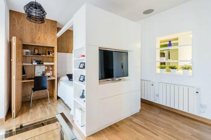 Квартира с функциональными решениями, которые пригодятся владельцам малогабариток