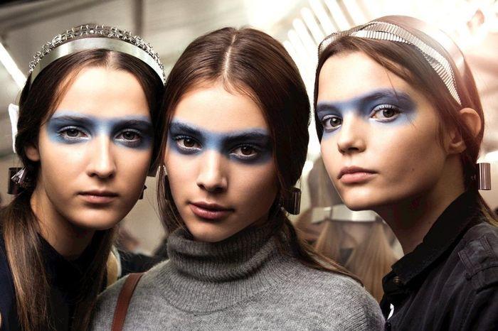 Необычные тенденции в макияже
