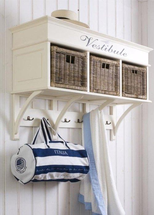 Плетёные корзинки в средиземноморском стиле